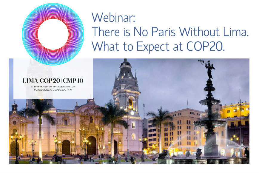 There is No Paris Without Lima. What to Expect at COP20.